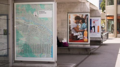 advertisement billboard outside