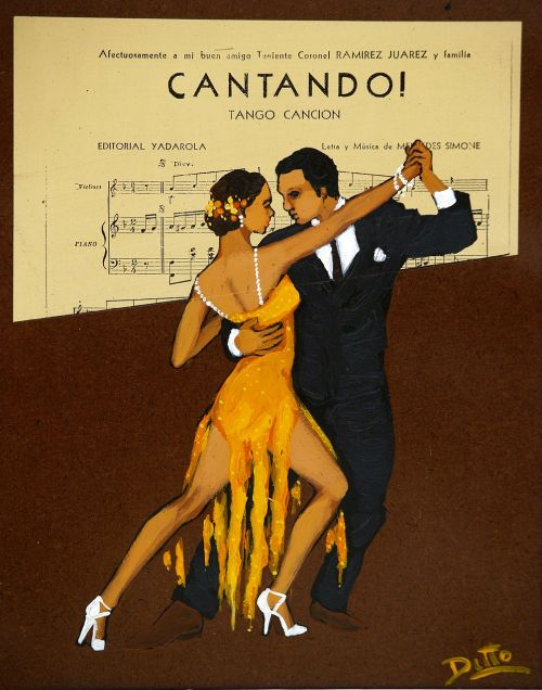 advertisement tango music