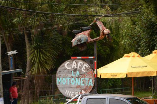 advertising moto coffee