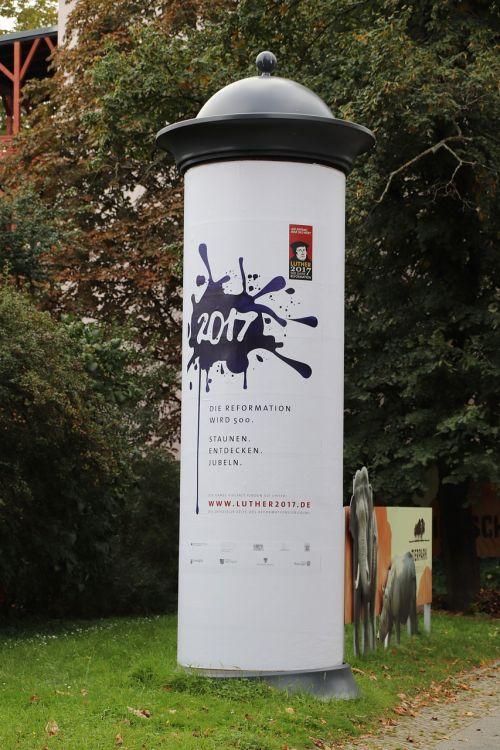 advertising pillar berlin information