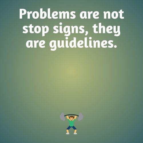 Advice On Problems