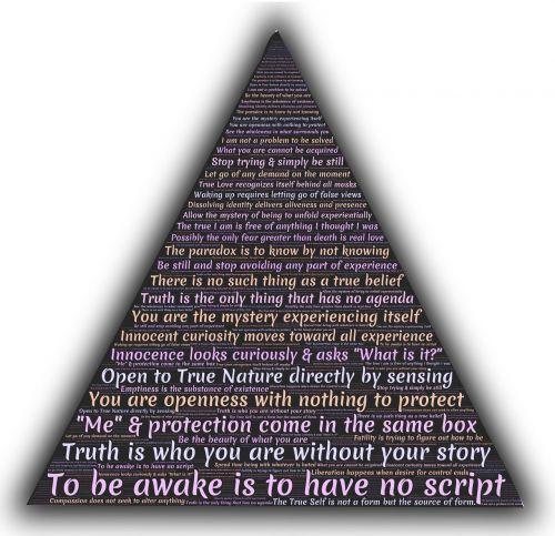 adyashanti wisdom triangle