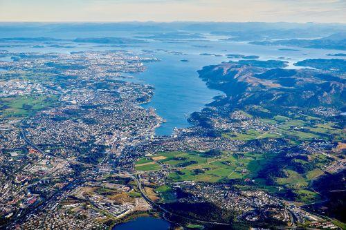 aerial view landscape