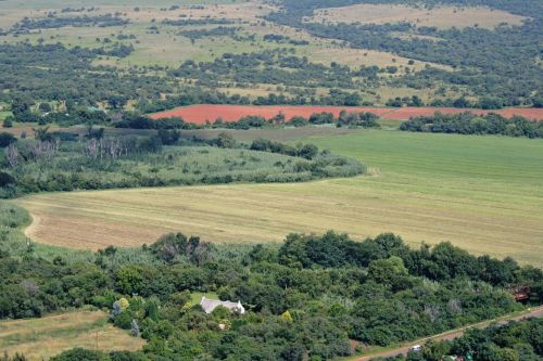 Aerial Fields And Countryside