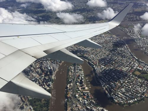 aero plane wing travel