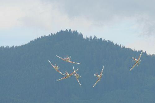aerobatics flugshow aircraft