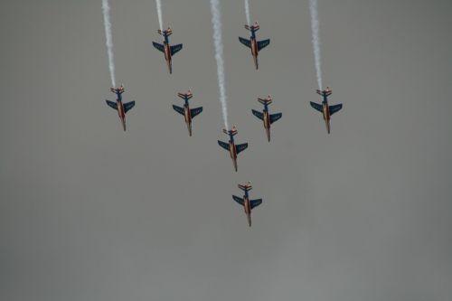 aerobatics aircraft alphajet