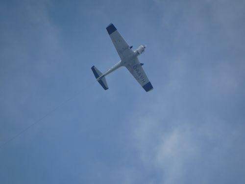 aeroplane sky aircraft