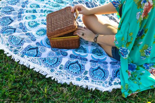 aesthetic picnic pattern