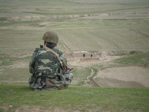 afghan soldier military