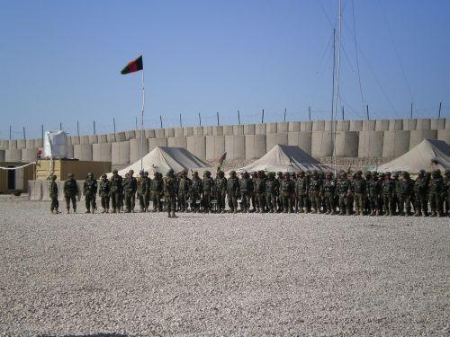 afghan soldiers military