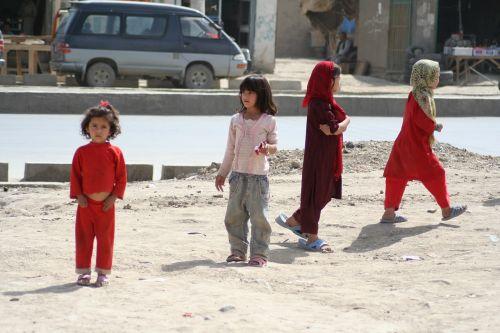 afghan kids children