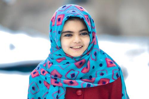afghan girl  portrait  face