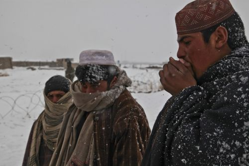 afghani people cold