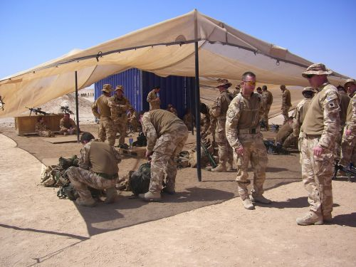 afghanistan training military
