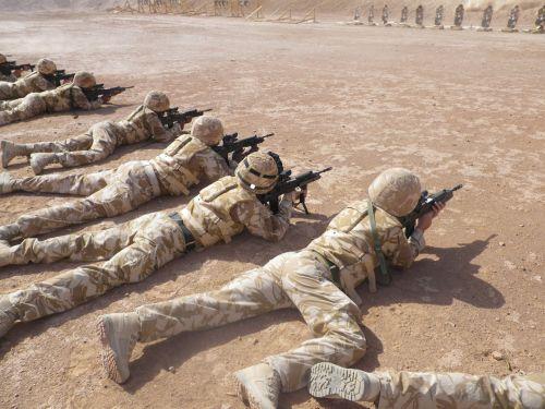 afghanistan shooting range military
