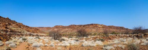 africa namibia landscape
