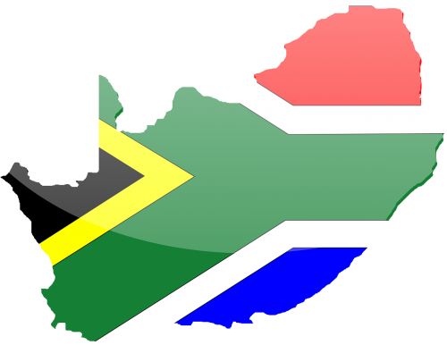 africa south africa flag