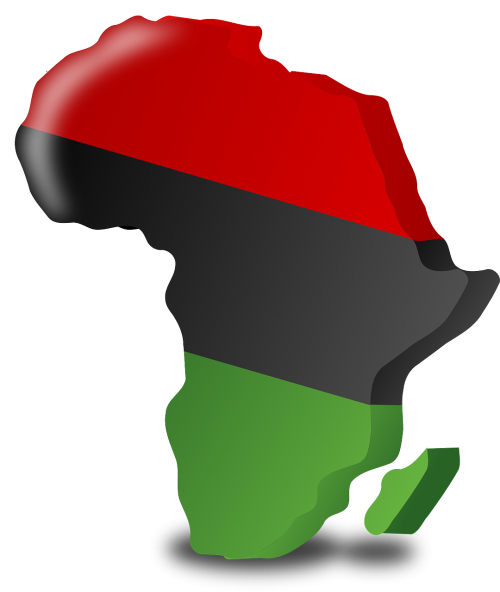 africa continent flag
