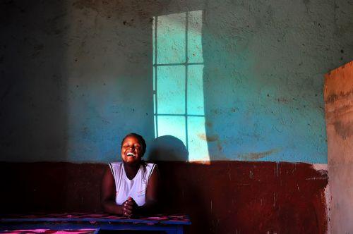 africa laugh window