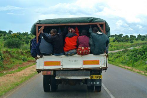africa lorry transport
