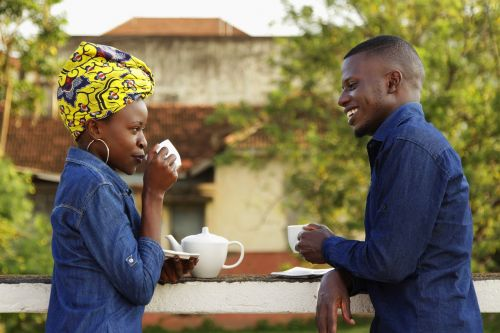 africa people of uganda couples