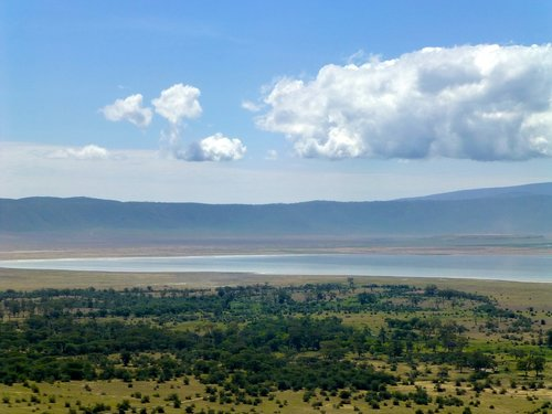 africa  volcano  crater
