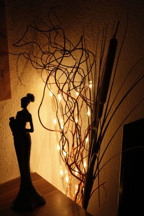 africa lichterkette woman