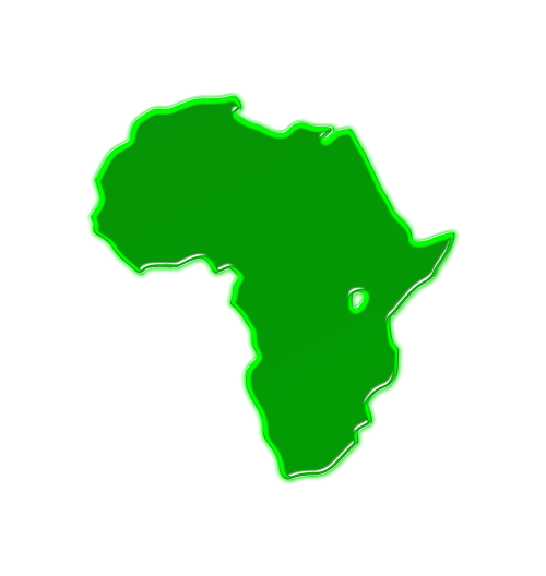 africa map geography