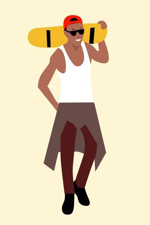 african cartoon character idea