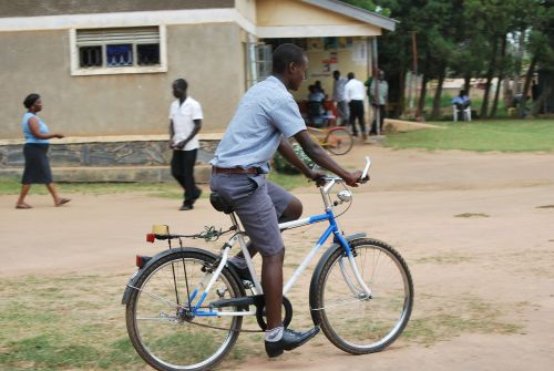 african uganda bicycle
