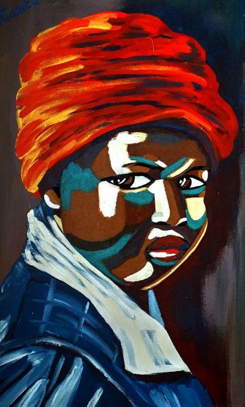 african art creative bold