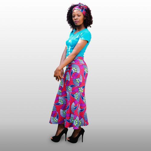african attire woman beauty
