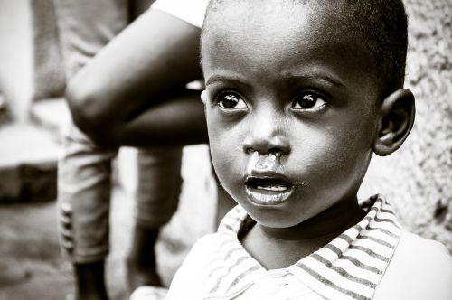 african child malaria ebola