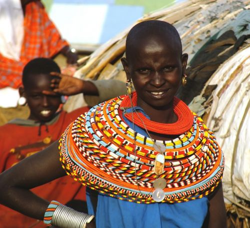 african woman samburu tribe kenya