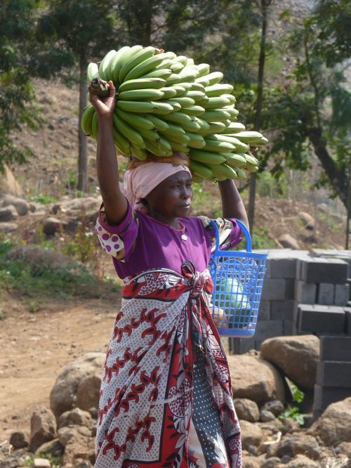 afrikanerin bananas africa