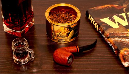 after work tobacco pipe