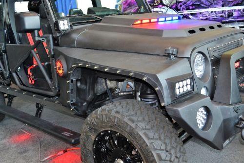afterfx custom jeep xrc black jeep
