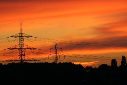 afterglow mood sunset