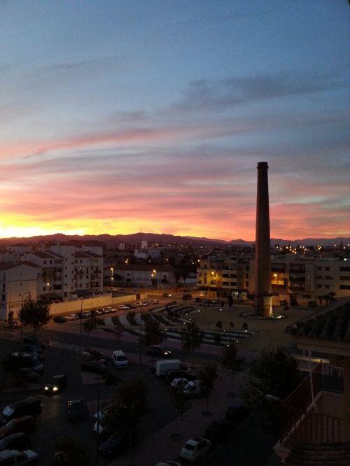 afterglow sunset abendstimmung