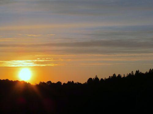afterglow sunset mood