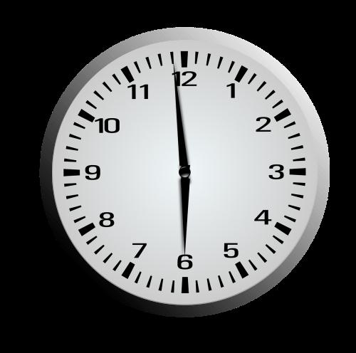afternoon clock es clocks