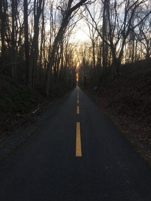 afternoon road street