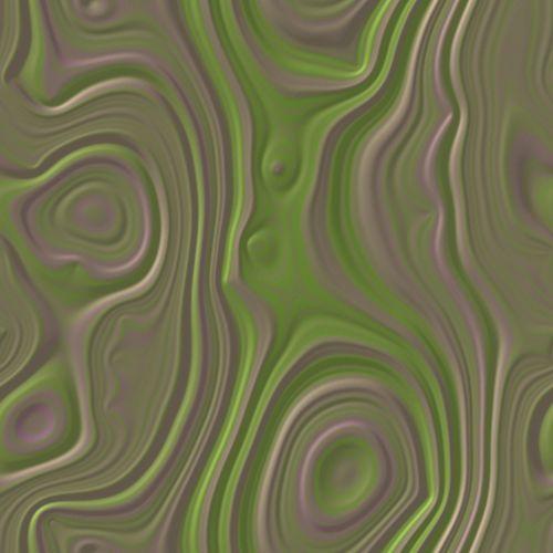 Agate Script Chartreuse & Violet