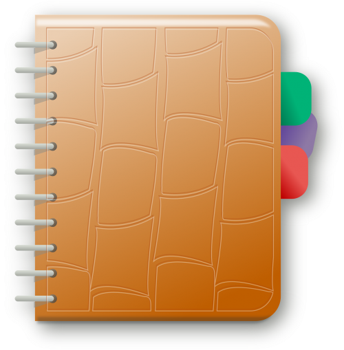 agenda note notebook