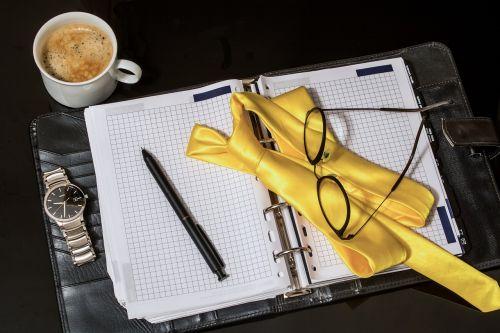 agenda tie pen