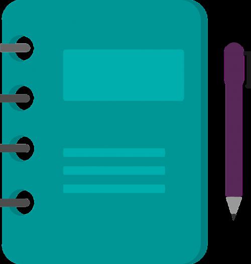 agenda to write notes