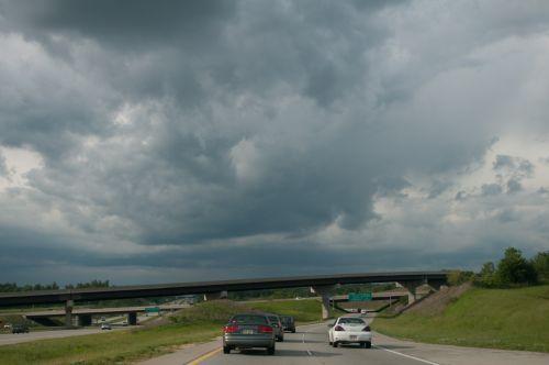 Aggressive Clouds Skyscape