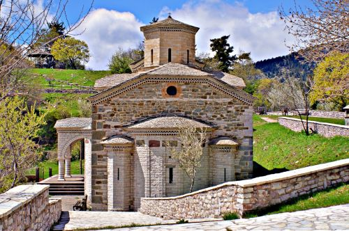 agia paraskevi fire trikala,religion,byzantium,church,orthodoxy,christianity