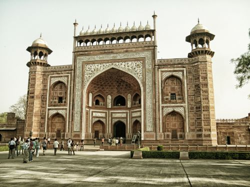 agra agra fort architecture